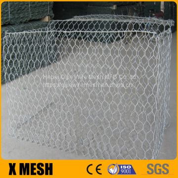 Beautiful 100x100mm opening gabion box for Security Wall