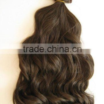 "2013 new market noble brazilian 100% human clip-in hair extension 10""~36"" wavy,curly,body wave, straight"