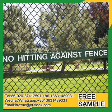 Hot sale weaved mesh fence chain link fence