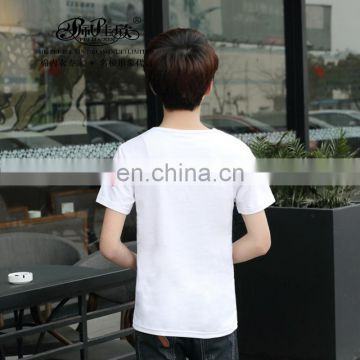 Peijiaxin Fashion Design Casul Style High Quality Men Custom Cotton T shirt
