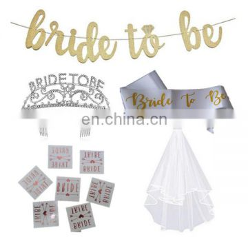 Bridal Shower Decorations Supplies Bachelorette hen Party Bride To Be Kit