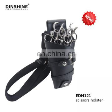 Beauty salon equipment leather hair salon scissor bag for hand