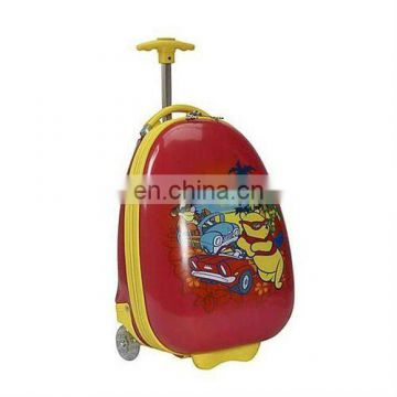 2015 cartoon trolley school backpack with pictures for kids