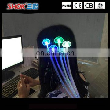Fashion Hair Decoration Led Flashing Braids In Night