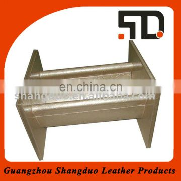 China Manufacture Low Price Custom Leather Newspaper Stand
