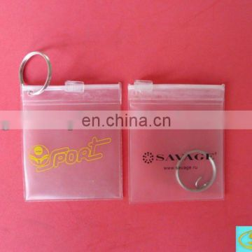 PVC BAG for backup button for garment