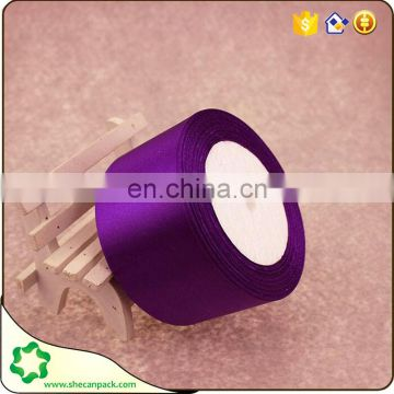 SHECAN 100% Polyester satin ribbon for wedding car