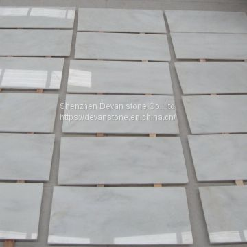 China Danby white marble slab & polised tile