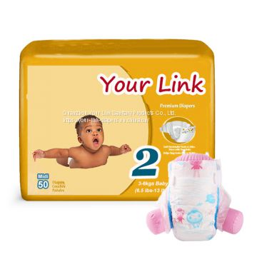 disposable baby diaper to uganda market breathable backsheet frontal tape couche pour bebe diapers ghana China supplier