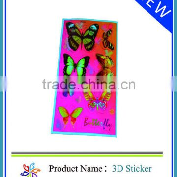 Beautiful 4x4 kids 3D Lenticular Sticker