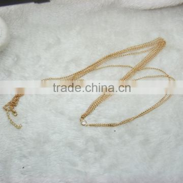 Hot two-layer body chain sexy waist chain