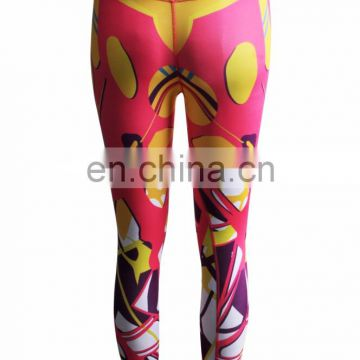 digital print seamless colorful yoga leggings pants womens with custom logo