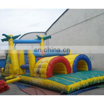 inflatable rainforest obstacle