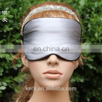 wholesale high quality MS mulberry silk.gift future style personalized NASA sleep eye mask