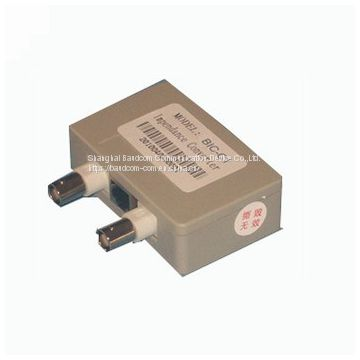 Single Port G.703 E1 Balun Adapter BNC to RJ45 impedance converter