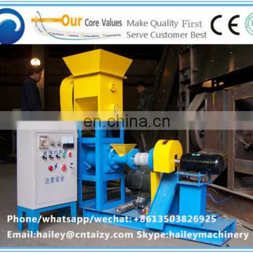 Good price floating fish extruder machine/sinking fish feed pellet press