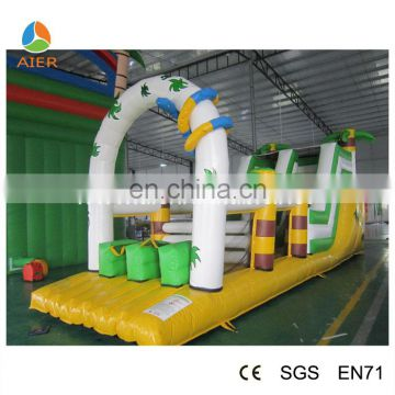 2016 awesome hot castle style water slide material/inflatable water slide repair kit/inflatable snake slide obstacle