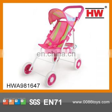 Funny Iron Colorful Baby Doll Stroller