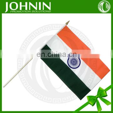 wholesale 30*45cm promotional all national hand flag for cheering