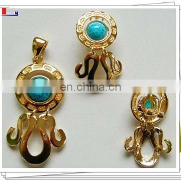 african gold earring 2013
