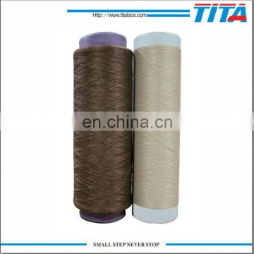 Semi dull Polyester filament twisted yarn