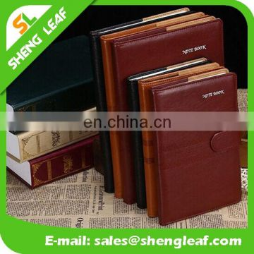 Manufacturer of custom high-grade A5 paperback notebook leather notebook