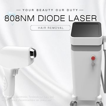 2019 New Professional Permanent 808nm Machine Fast 808 Epilator Diode Laser Hair Removal