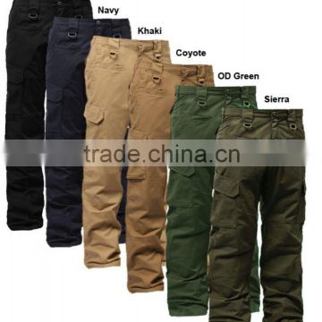 military Operator Tactical Pants w/ Elastic Waistband
