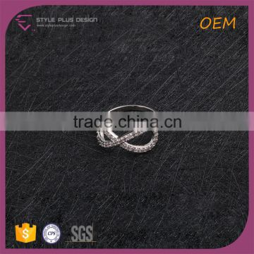R63485K01 Best selling silver plated big diamond ring designs butterfly valve seal ring design