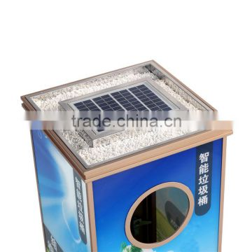 Outdoor Advertising Trash Cans for Sale HW-0020B
