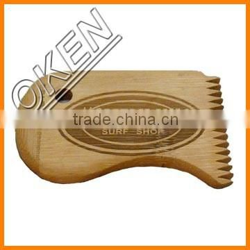Type Economic and applicable surfing simulator flow rider board ride water amusement park sport with wax comb bamboo