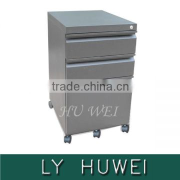 Hot movable file cabinet holder