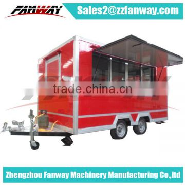 Fast Food Mobile Truck, Food Kitchen Truck For Sale of Food Cart ...