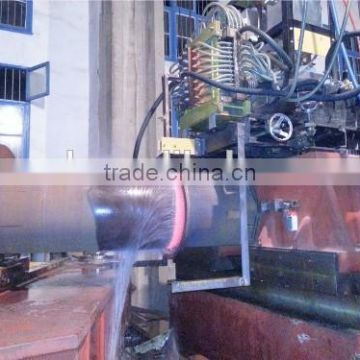 Steel tube hot bending machine