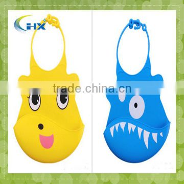 Easy washable crumb food catcher Silicone Bibs,Wholesale Blank Baby Bib