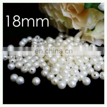 ivory white plastic pearl beads table centerpiece home decor loose beads decor wedding table centerpiece