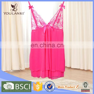 Aluminum Alloy Sexy Lingerie For Teen Girls Women's Sleepwear