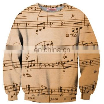 OEM Custom sublimation sweater shirts wholesale pullover