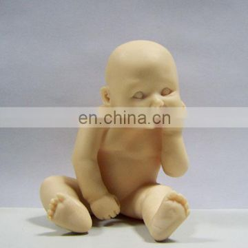 resin lovely small baby figurine