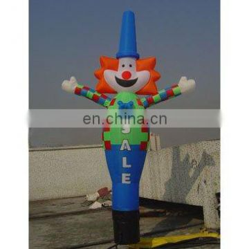 inflatable dancing clown with blower, dancing puppet