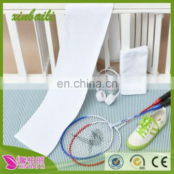 wholesale men and women running outdoors white cotton sports towels