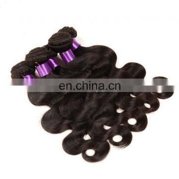High Quality Body wave Natural brown 100% Unprocessed Virgin Peruvian Hair