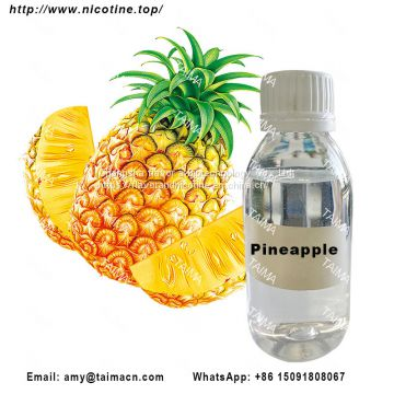 Pineapple Concentrated Fruit Flavor/ Flavour Liquid Used For Nicotine Liquid