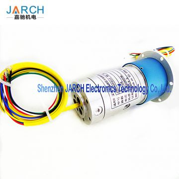 rotary joint electrical connector 1000RPM hydraulic slip ring assembly For Industrial Machinery