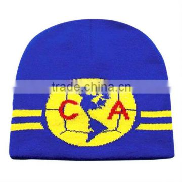 c60e9e5c7b44c5 Selling High quality sport beanie hat stretched knit beanie hat thick  promotional football fans hat of JRS-Knitted Beanie Hat from China  Suppliers - ...