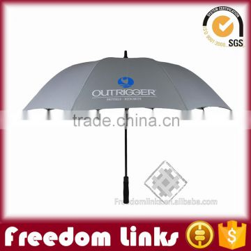 customizd golf umbrella low price,standard umbrella specification