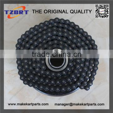 "Go kart clutch of 16 Tooth 219 chain 3/4"" bore minibike part with #219 chain"