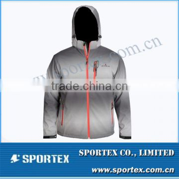 Functional Xiamen Sportex wholesale men's softshell jacket, softshell jacket for men, softshell jacket OEM#YC13047