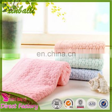 High Quality Panda Design Jacquard Bamboo Bath Towel