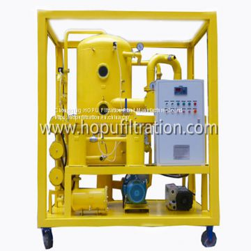 Enclosed Weather Proof Type High Vacuum Insulation Oil Filtration Unit ,Transformer Oil Purifier with carbon steel cabinet